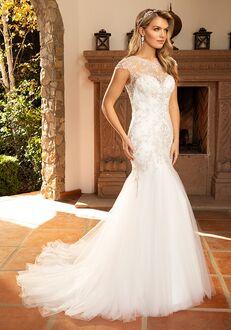 Casablanca Bridal 2386 Monica Mermaid Wedding Dress