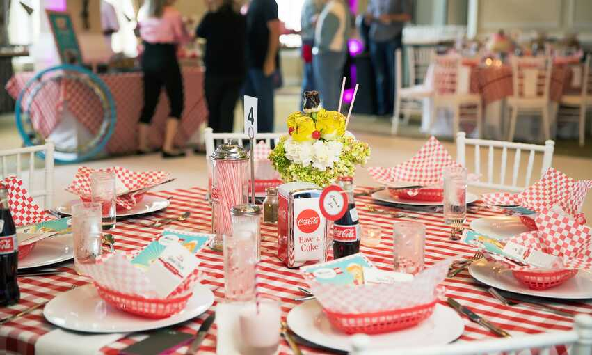 '50s party themed inspiration and ideas