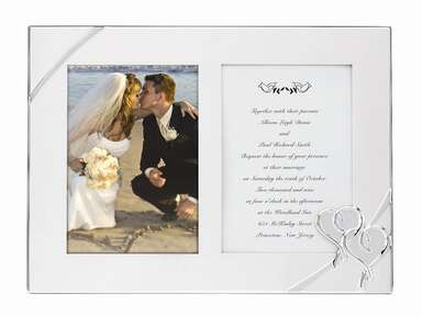 wedding invitation frame