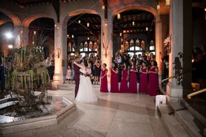 First Dance at Harry Potter-Inspired Wedding in New York
