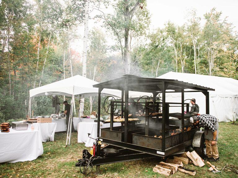 Backyard Wedding Ideas BBQ