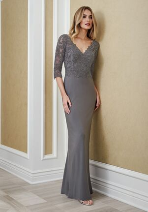 Jade J215066 Silver Mother Of The Bride Dress