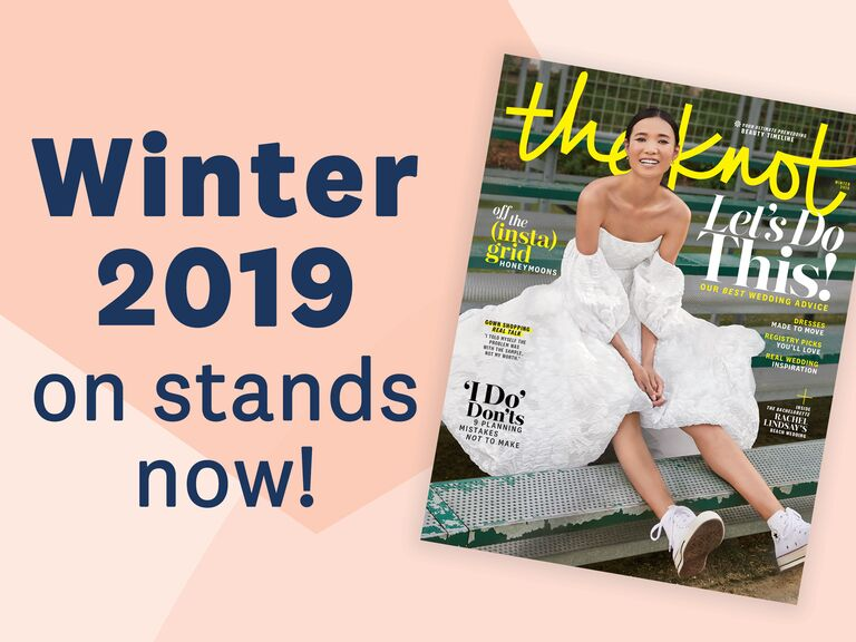The Knot Spring 2019 magazine subscription details