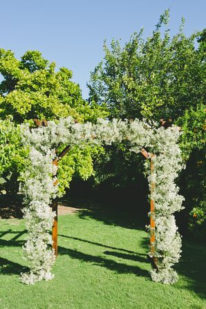 Baby's Breath Wedding Arch
