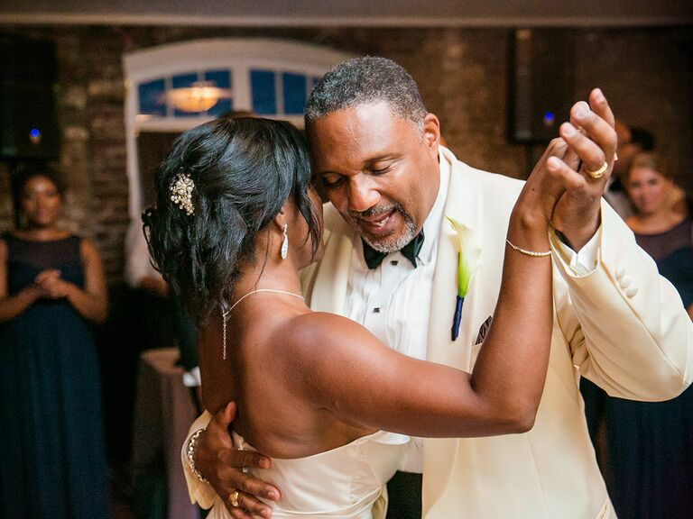 Father-daughter wedding dance