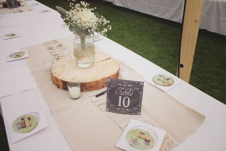 Chalkboard-Inspired Table Numbers