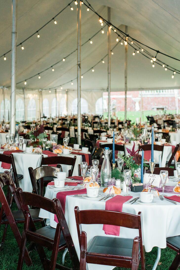 Tented Wedding Reception at Glensheen in Duluth, Minnesota