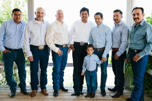 Casual Country-Style Groomsmen Attire