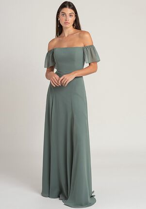 Jenny Yoo Collection (Maids) Elsie Off the Shoulder Bridesmaid Dress