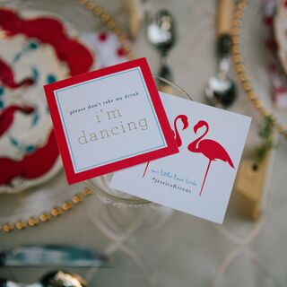A Creative Flamingo-Inspired Wedding in Cleveland