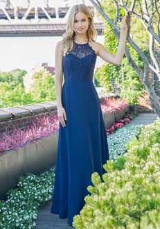 Hayley Paige Occasions 5861 Illusion Bridesmaid Dress