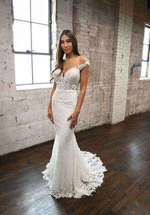 Martina Liana 1303 Sheath Wedding Dress
