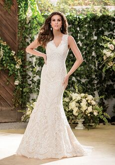 Jasmine Collection F181053 Mermaid Wedding Dress