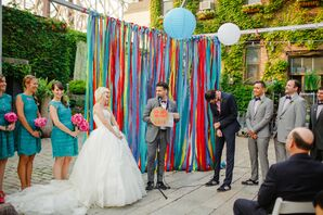 Playful Outdoor Ceremony at the Foundry