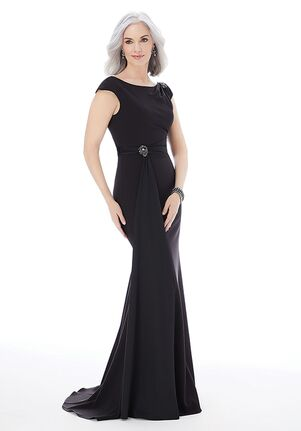 MGNY 72233 Black Mother Of The Bride Dress