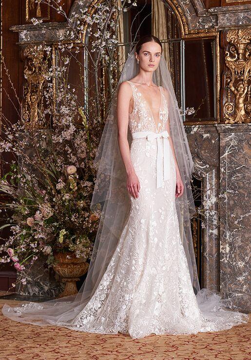 Monique Lhuillier Etoile Mermaid Wedding Dress