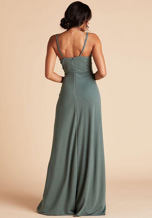 Birdy Grey Ash Crepe Dress in Sea Glass Scoop Bridesmaid Dress