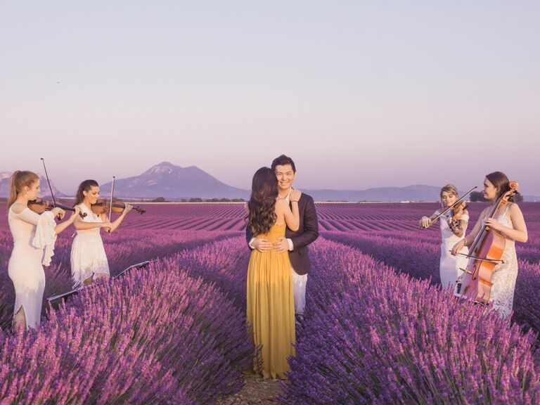 1 A Destination Photo Shoot In Lavender Field Provence France