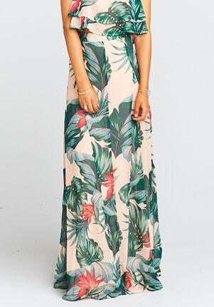 Show Me Your Mumu Princess Di Ballgown - Kauai Kisses Square Bridesmaid Dress