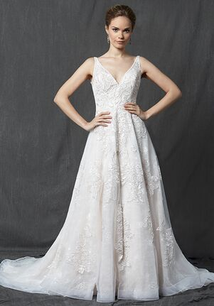 Michelle Roth for Kleinfeld Wilby A-Line Wedding Dress