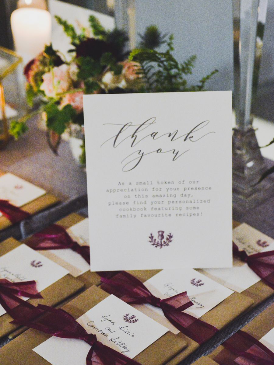 Wedding Favor Ideas for Fall Weddings