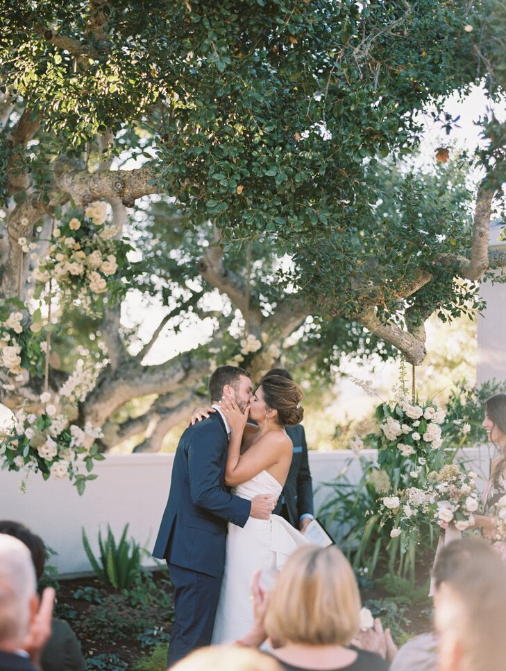 Romantic Bohemian Garden Ceremony