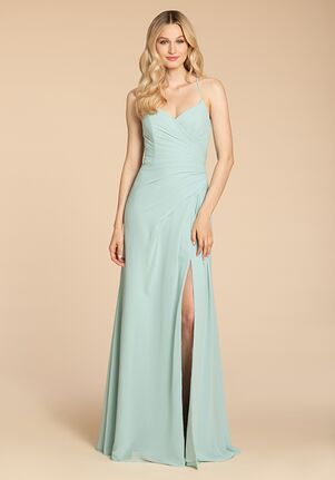 Hayley Paige Occasions 5955 V-Neck Bridesmaid Dress