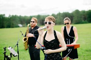 Live Band at Wedding in Stowe, Vermont