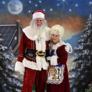 Las Vegas, NV Santa Claus | Singing Santa-Real Bearded, Mrs.Claus, Angel, Elf