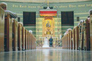 St. Mary's Catholic Church Ceremony