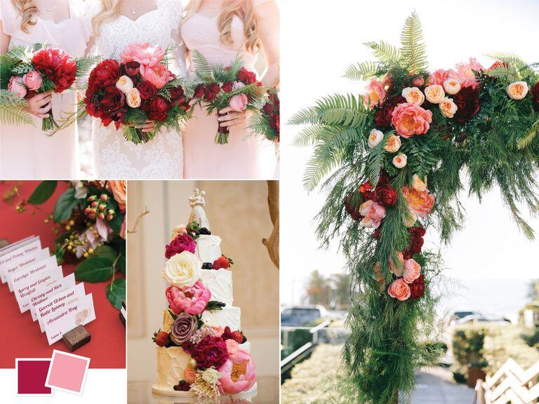 Christmas Wedding Colors.Wedding Color Palettes We Love