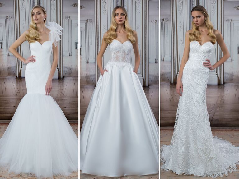 92c6e7f4b1110 Pnina Tornai wedding dresses from the LOVE collection at Kleinfeld in New  York City