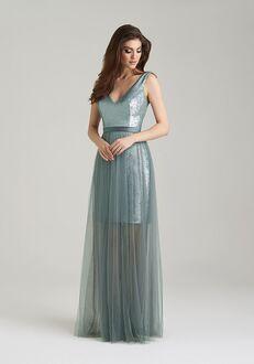 Allure Bridesmaids 1470 V-Neck Bridesmaid Dress