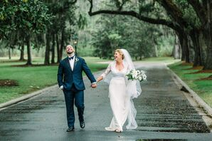 Couple in Classic Savannah Setting