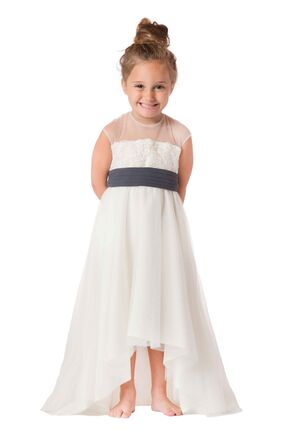 Bari Jay Flower Girls F6517 Ivory Flower Girl Dress