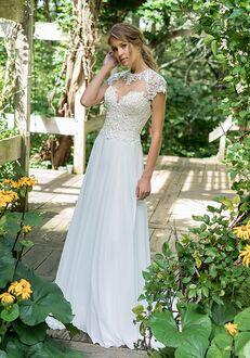 Lillian West 66006 A-Line Wedding Dress