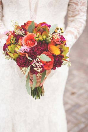 Fall-Inspired Bridal Bouquet