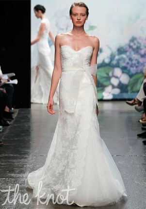 Monique Lhuillier Emma A-Line Wedding Dress