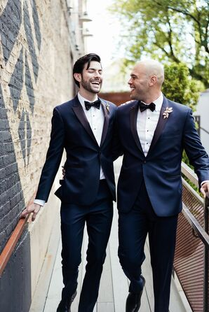 Same-Sex Couple at The Joinery in Chicago