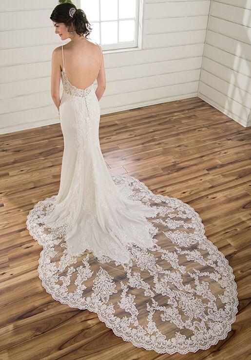 Essense of Australia D2900 Sheath Wedding Dress