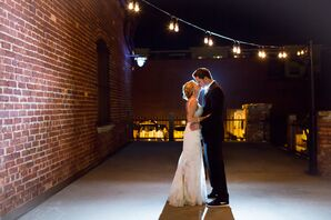 Morgan and Ryan's Industrial-Chic Celebration