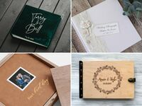 Wedding photo albums