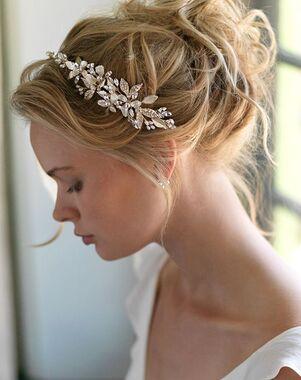 Dareth Colburn Aviana Bridal Side Headband (TI-7013) Gold Headband