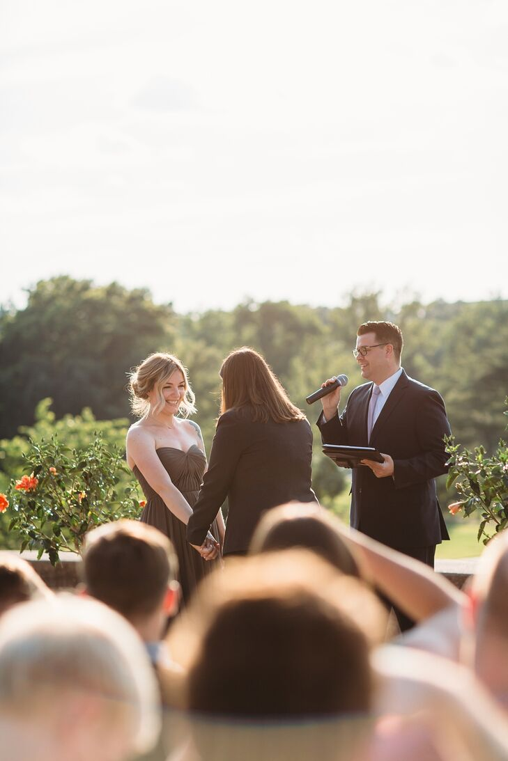 Simple Outdoor Park Ceremony