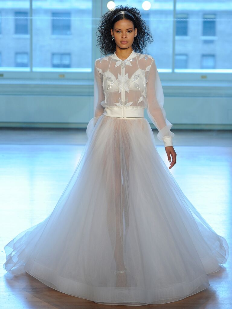 Daring Wedding Dresses From Bridal Fashion Week (Watch!)