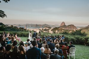 Mountain and Sea View Ceremony