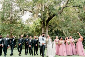 Wedding Party Pictures  at Wrightsville Manor in Wilmington, North Carolina
