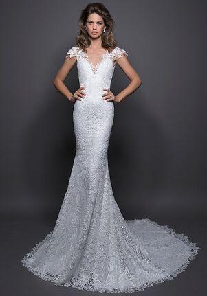 LOVE by Pnina Tornai for Kleinfeld 14581 Sheath Wedding Dress