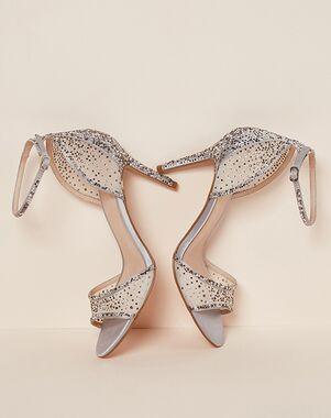 LE CHÂTEAU Wedding Boutique SHOES_363575_092 Silver, White, Gray Shoe