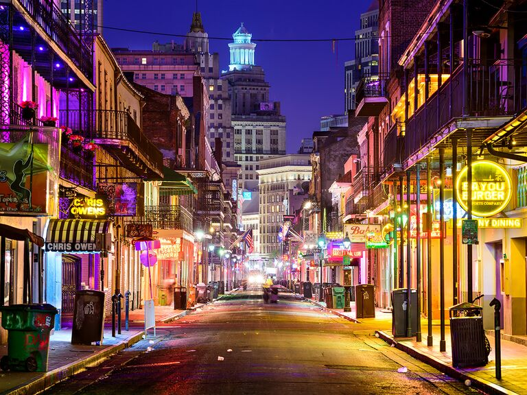 Bourbon Street New Orleans Bachelor Party
